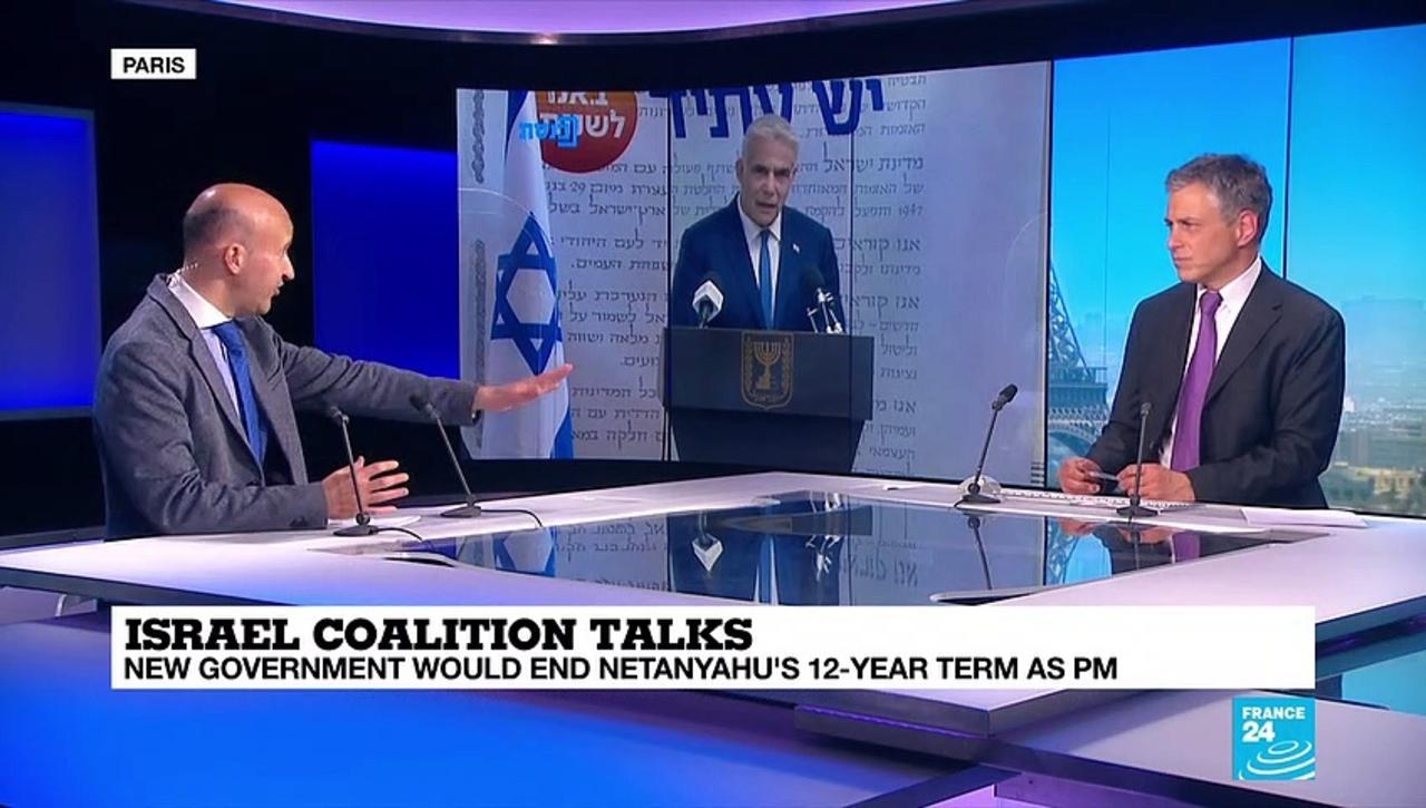 'The Palestinian issue off the table' in the Israel coalition talks