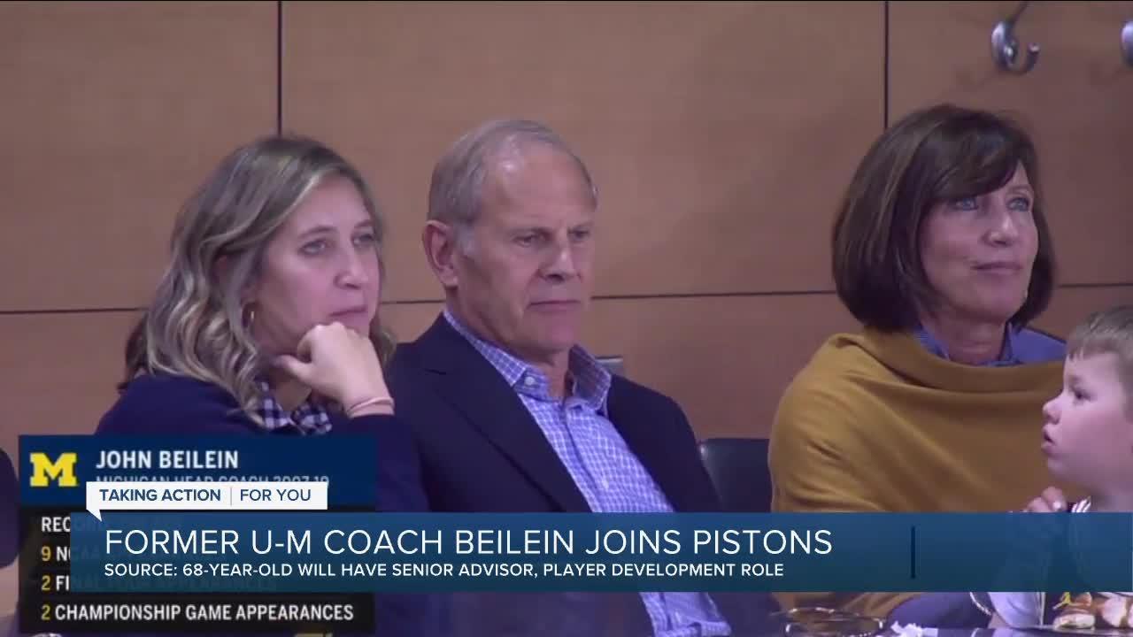 Source: John Beilein joining Pistons