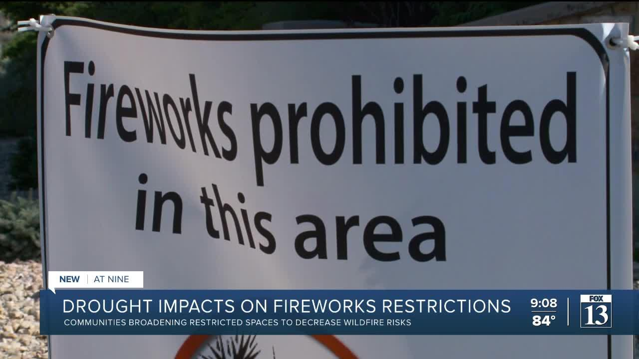 Authorities ask Utahns to be careful with fireworks; Some towns update restricted areas