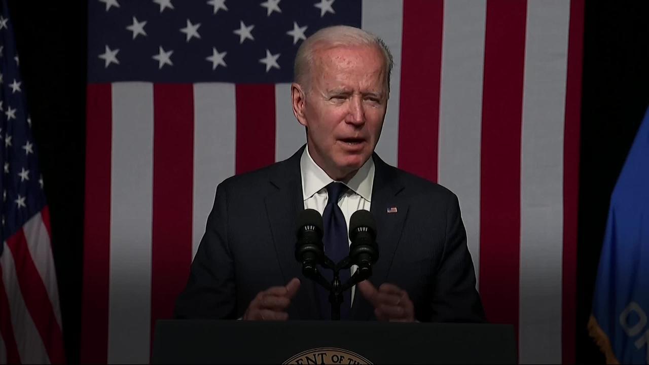 President Biden marks Tulsa race massacre in emotional speech