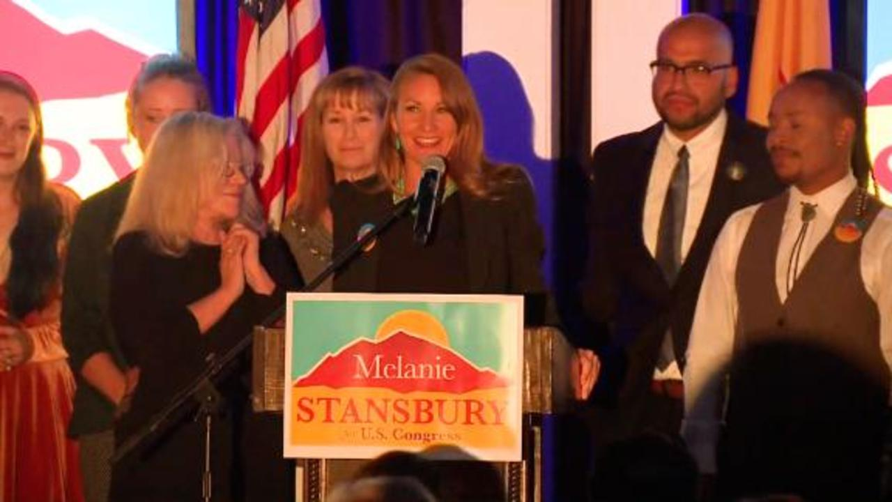 Melanie Stansbury: Tonight New Mexico delivered
