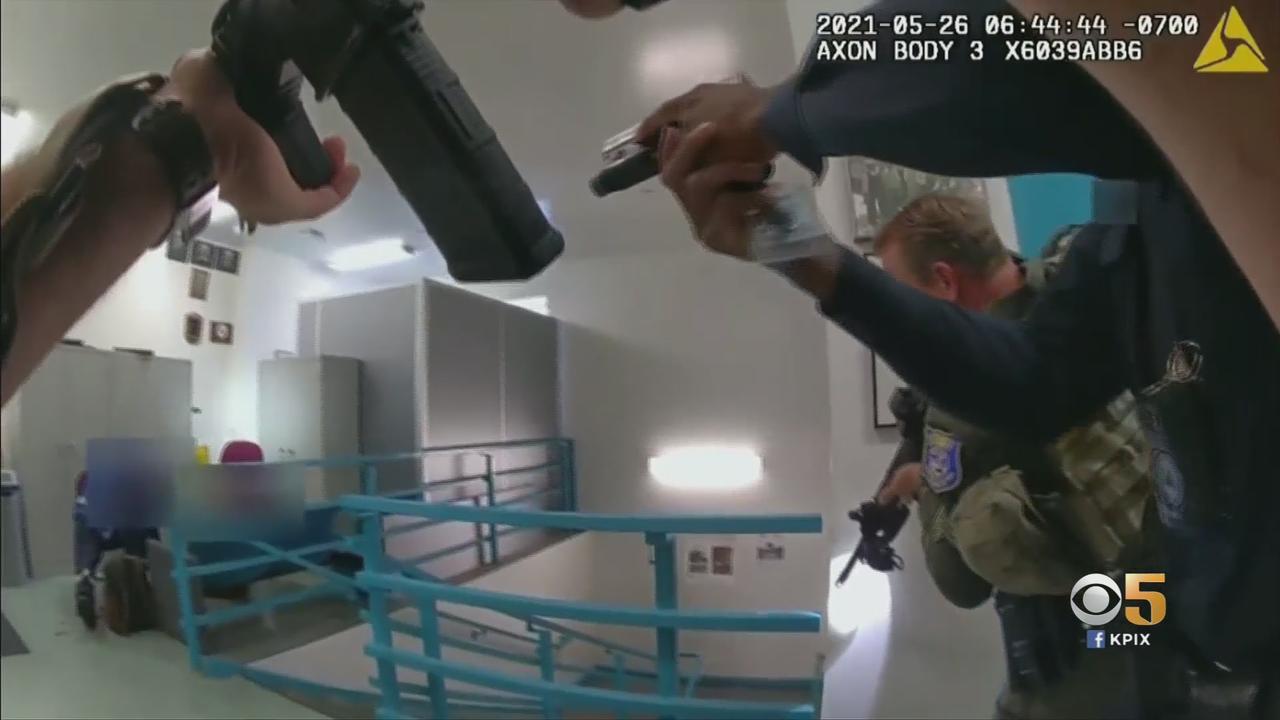San Jose Shooting: Police Bodycam Video Reveals Tense Search For VTA Mass Shooter