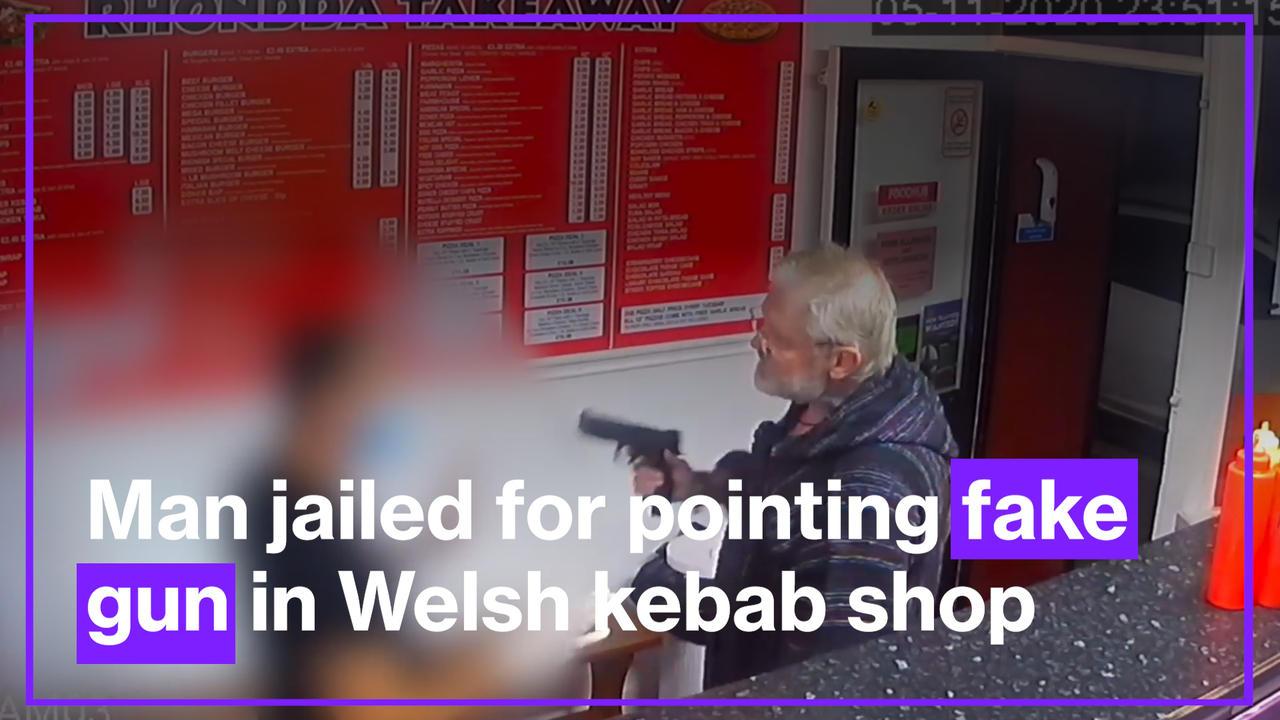 Man Jailed For Pointing Fake Gun in Welsh Kebab Shop After Refusing to Wear Mask