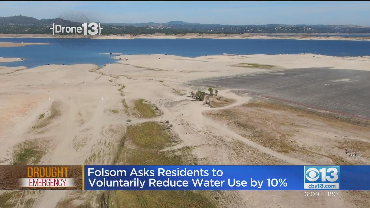 Folsom Asks Residents To Voluntarily Reduce Water Use By 10%
