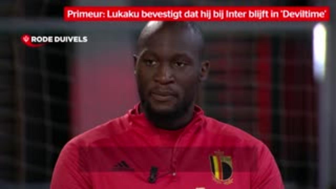 Lukaku says he is staying at Inter Milan