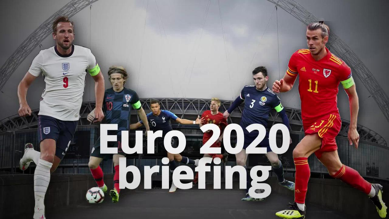 Countdown to Euro 2020: 8 days to go