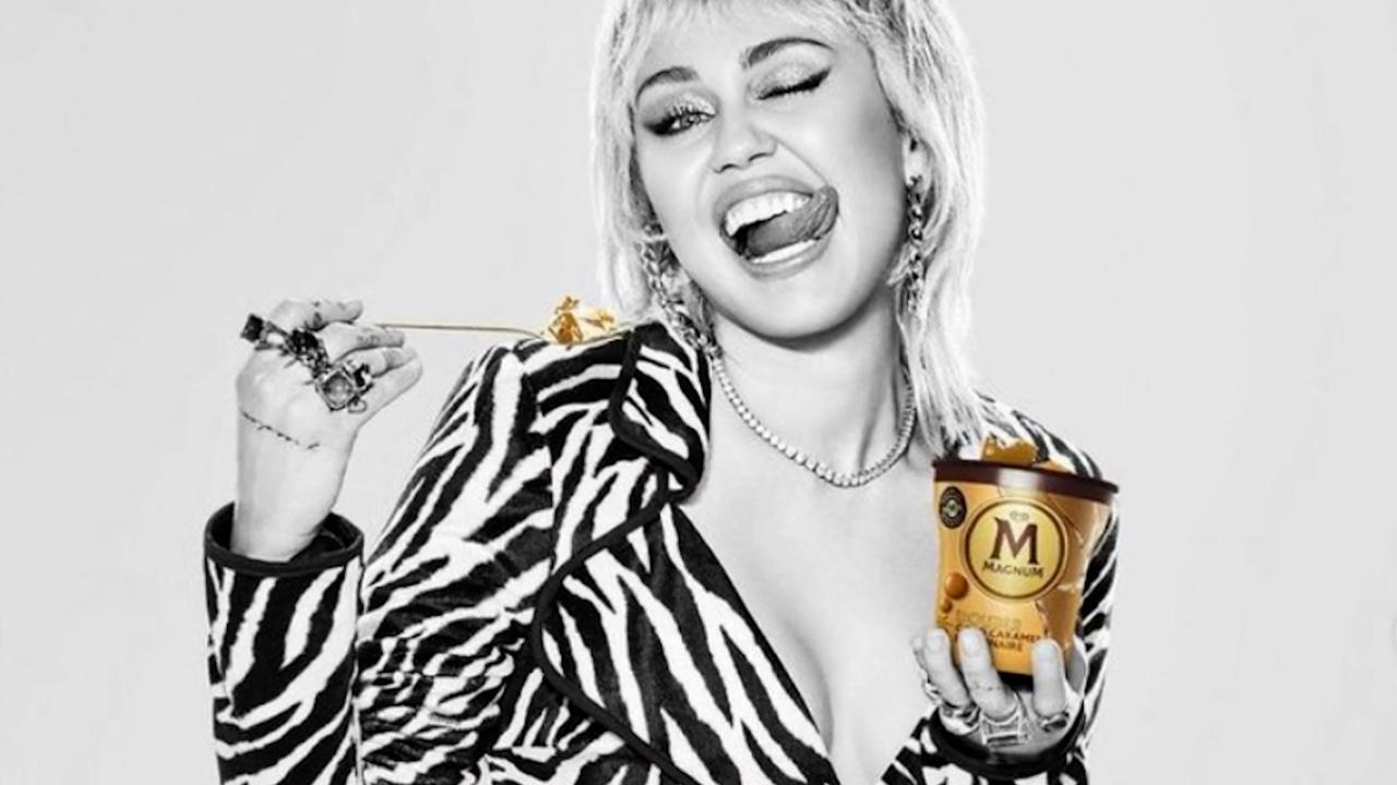 Miley Cyrus explores 'different layers' of self-expression in Magnum campaign