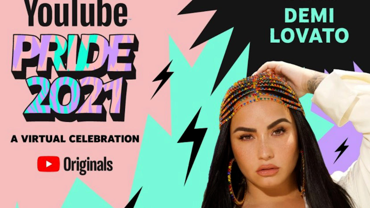 Demi Lovato & Olly Alexander to co-host YouTube Pride party