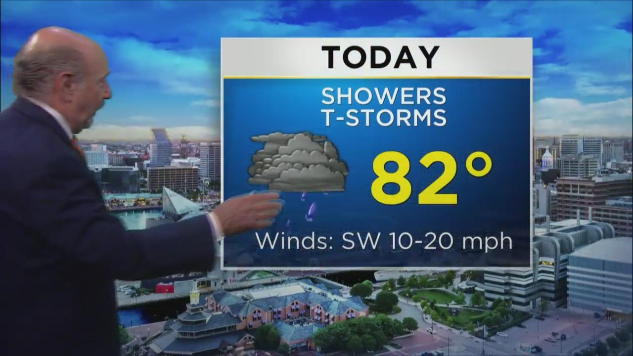 Marty Bass Has Your Thursday Morning Weather