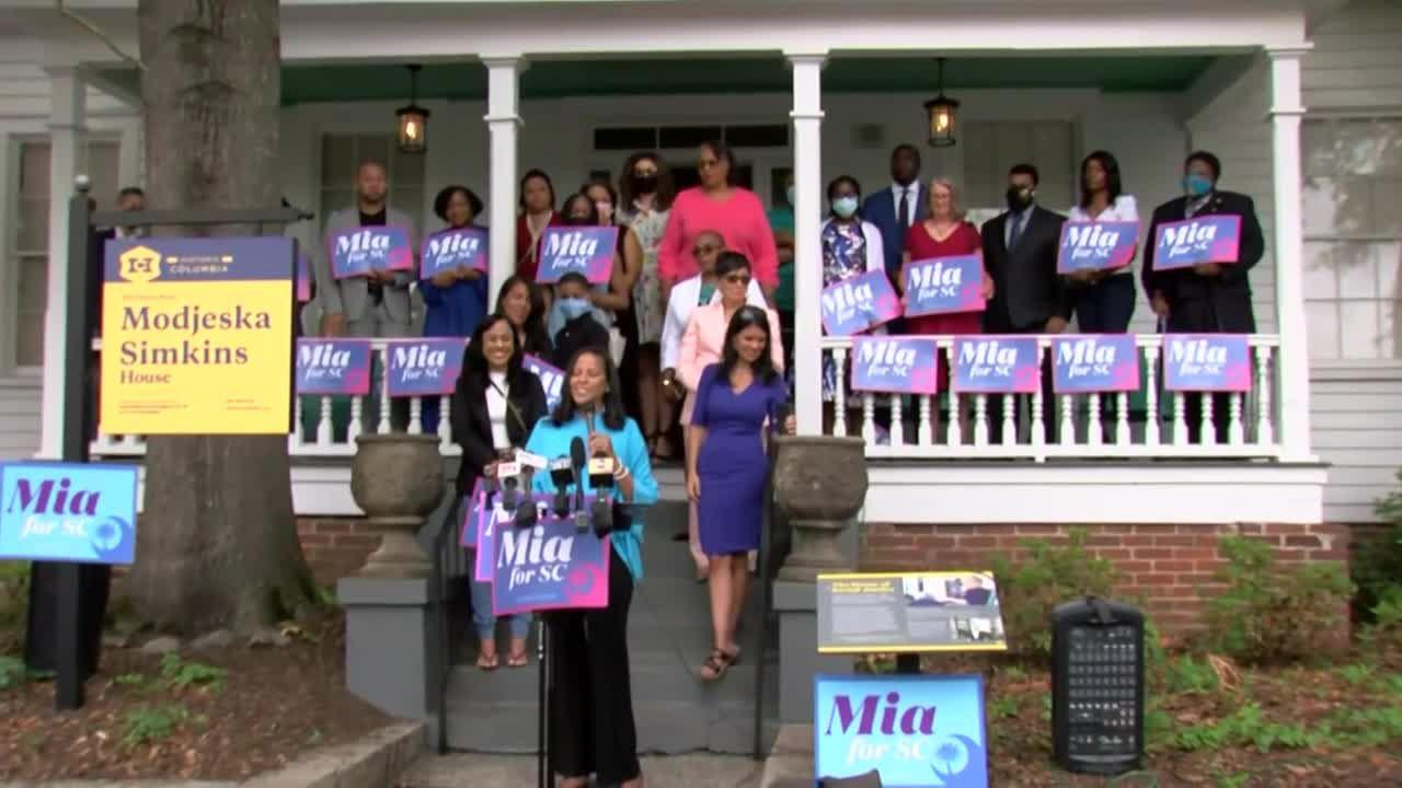 SC lawmaker makes history as 1st Black woman to run for governor