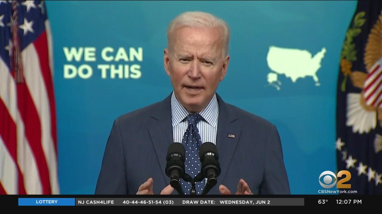 Pres. Biden Sets Goal To Have 70% Of Americans Vaccinated By July 4