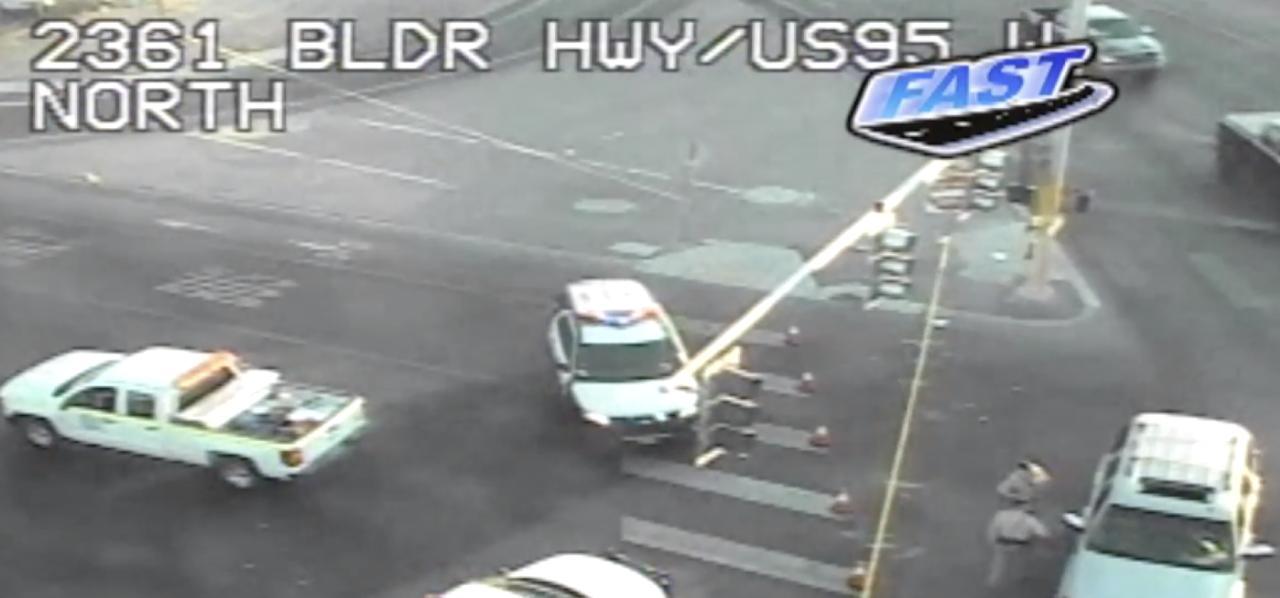 Pedestrian killed Thursday morning on Boulder Highway