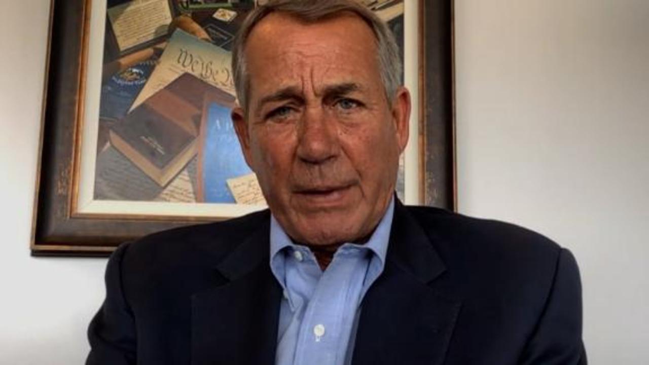 Boehner on GOP election laws: Partisan efforts undermine voter confidence