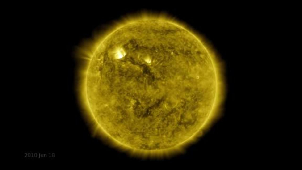 See stunning 10-year timelapse of the sun