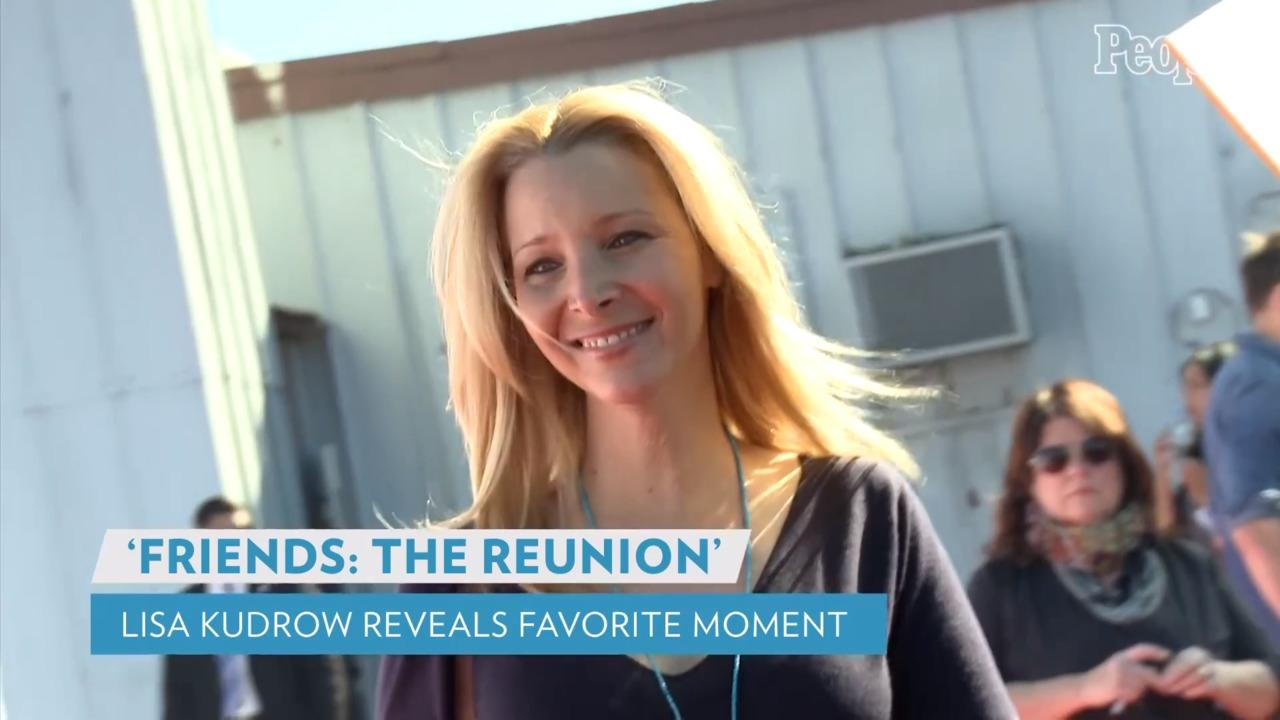 Lisa Kudrow Reveals Emotional Friends Reunion Moment Viewers May Have Missed