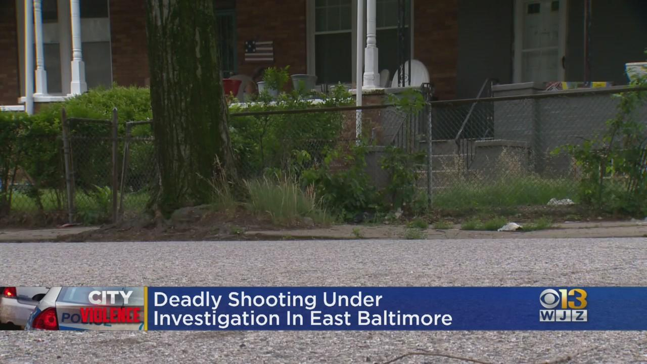 Baltimore Police Investigating Fatal Shooting In East Baltimore