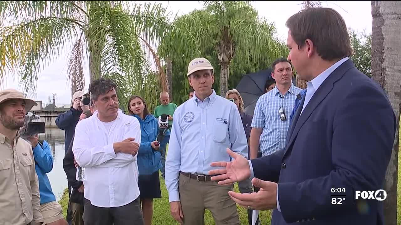 Governor DeSantis meets with company combating blue green algae in Southwest Florida