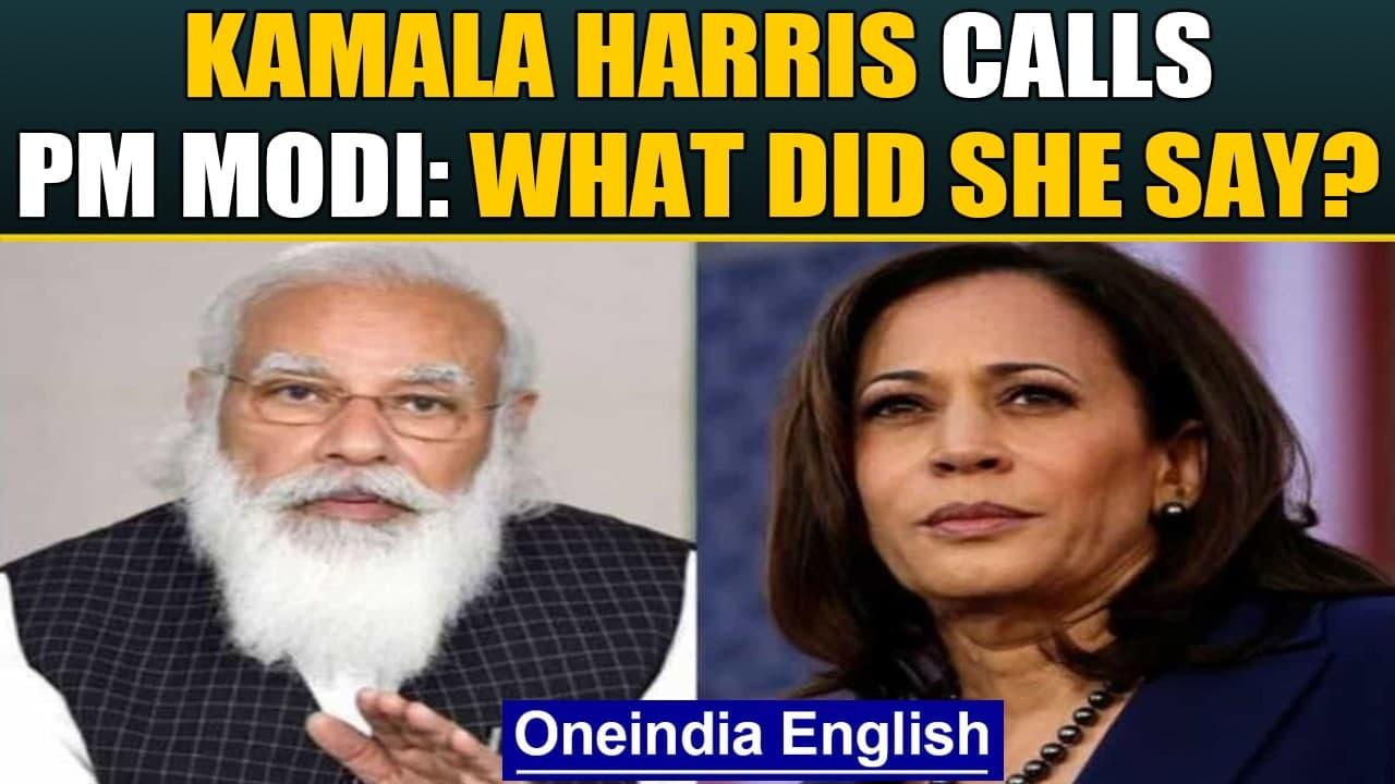 Kamala Harris speaks to PM Modi: US to share vaccines with India by June| Covid-19 | Oneindia News