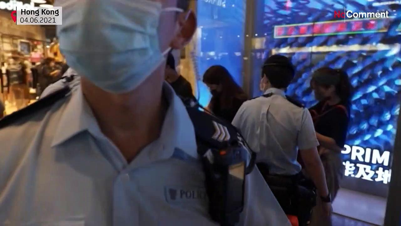 Hong Kong: Commemoration of Tiananmen is forbidden