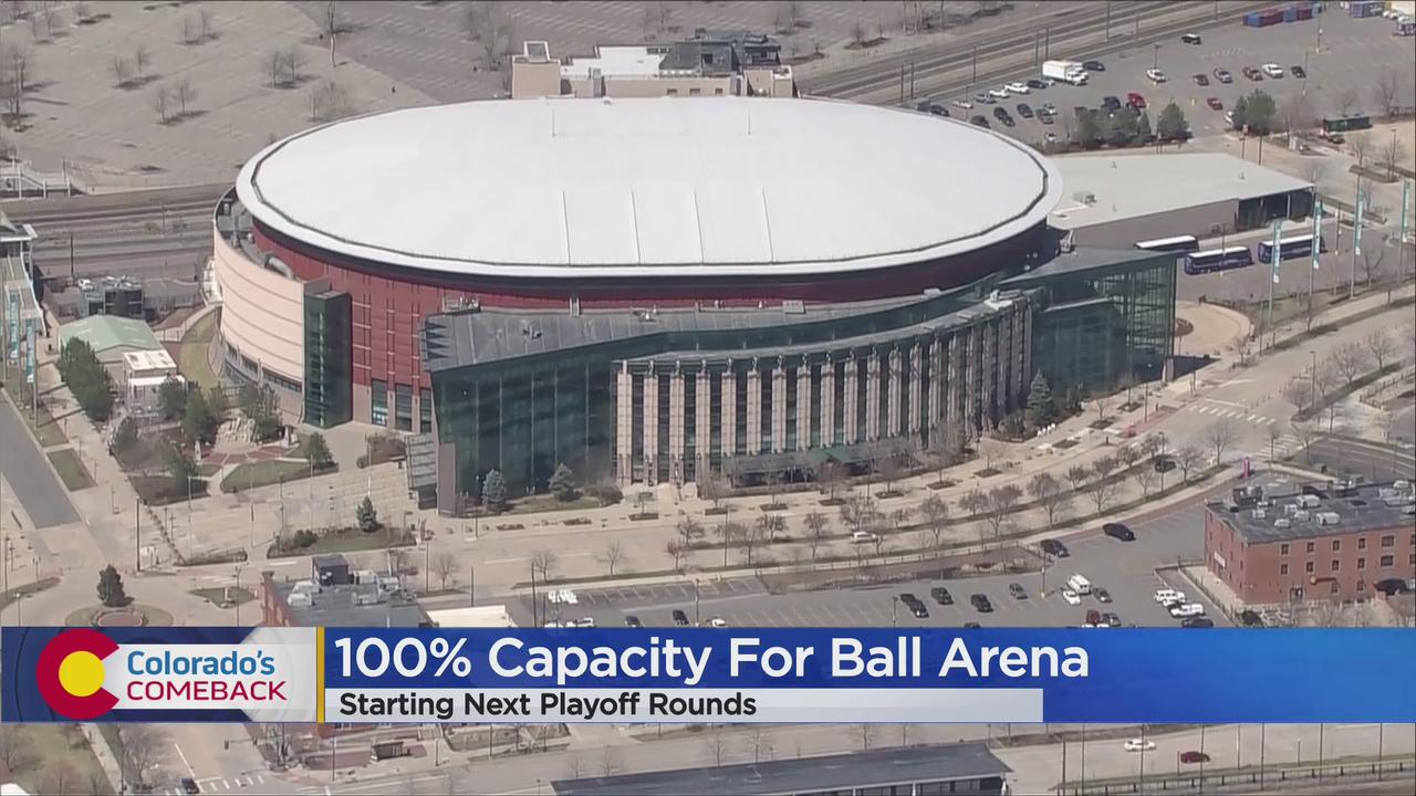 Ball Arena Granted Permission To Allow Nearly-Full Capacity For Nuggets & Avalanche Playoff Games If They Advance To Next Rounds