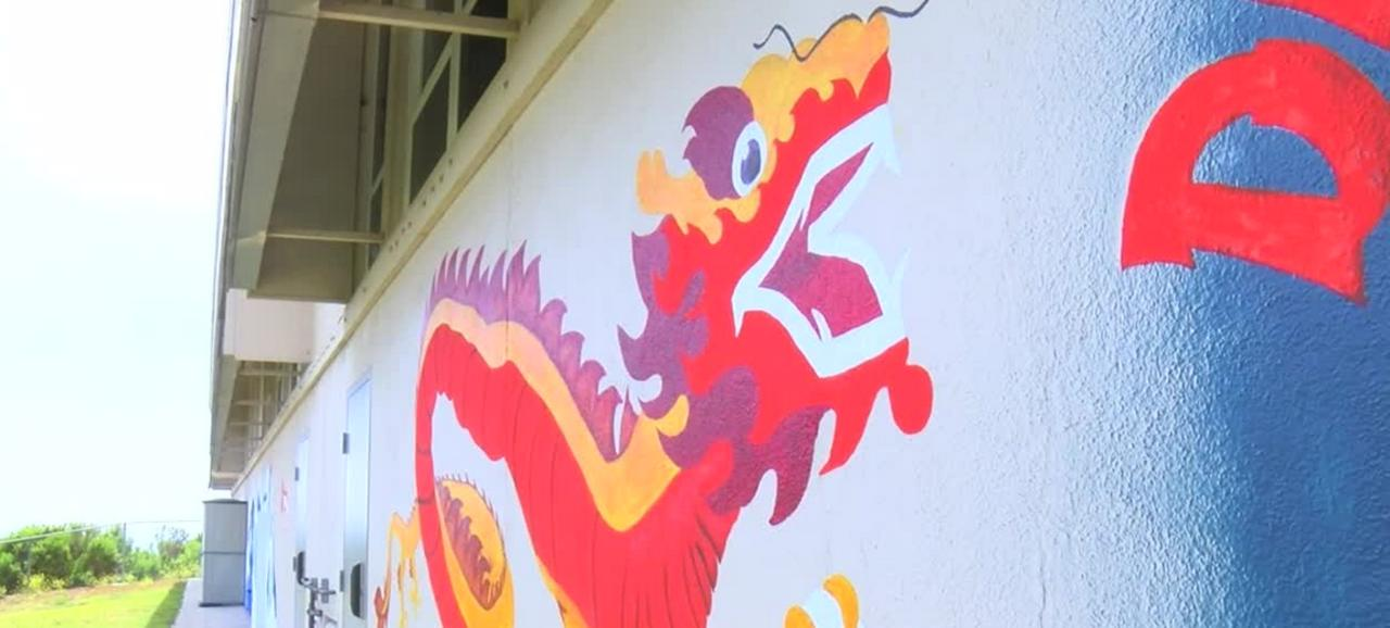 Judkins Middle School students celebrate last day of hybird learning with new mural