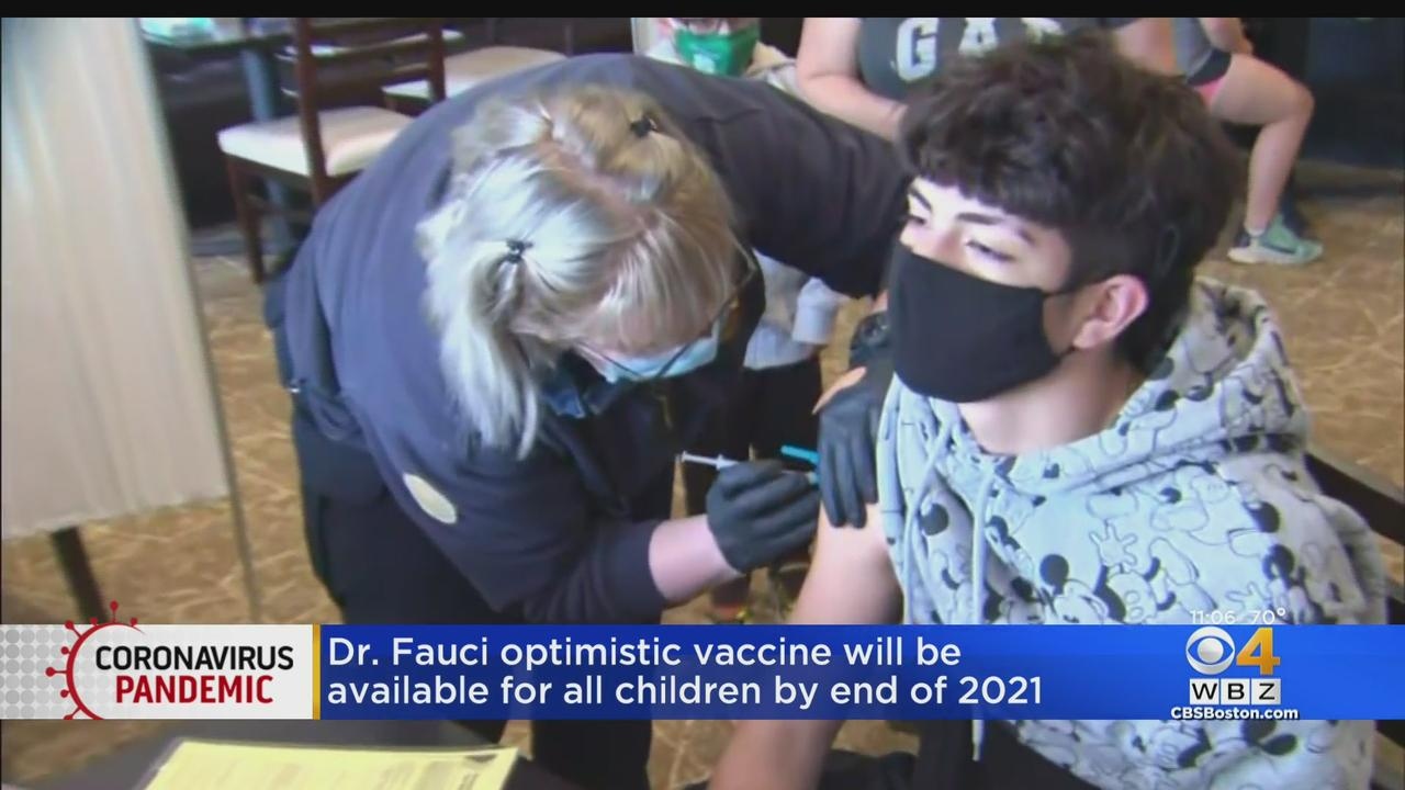 Fauci 'Cautiously Optimistic' Children Under 12 Will Be Eligible For Vaccine By End Of Year
