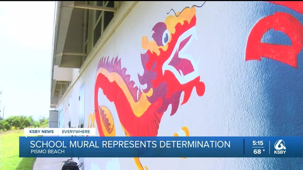 Judkins Middle School students finish mural representing determination