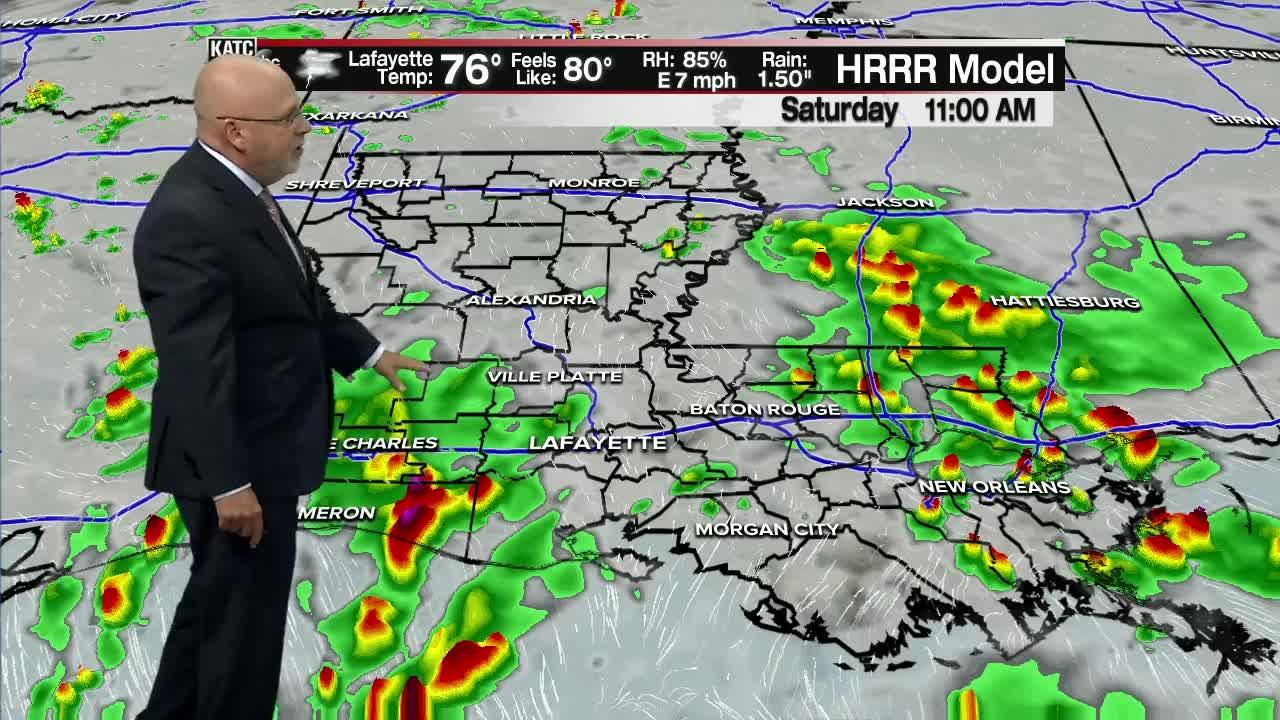 ROB'S WEATHER FORECAST PART 2 10PM 6-3-2021