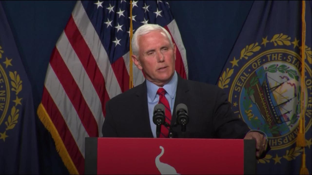 Mike Pence: Likely I will never see eye to eye with Donald Trump on Capitol riot