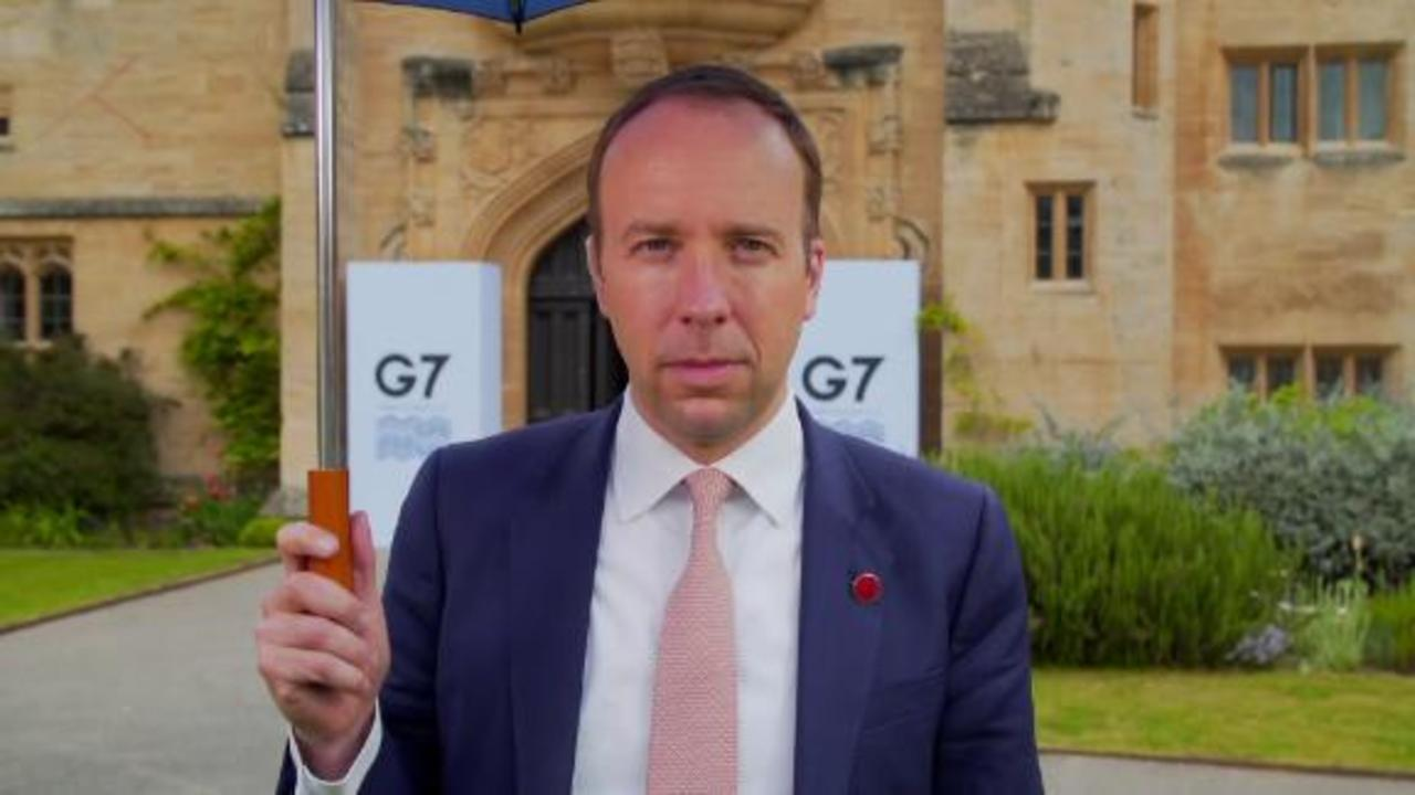 UK Health Secretary on Covid and care homes