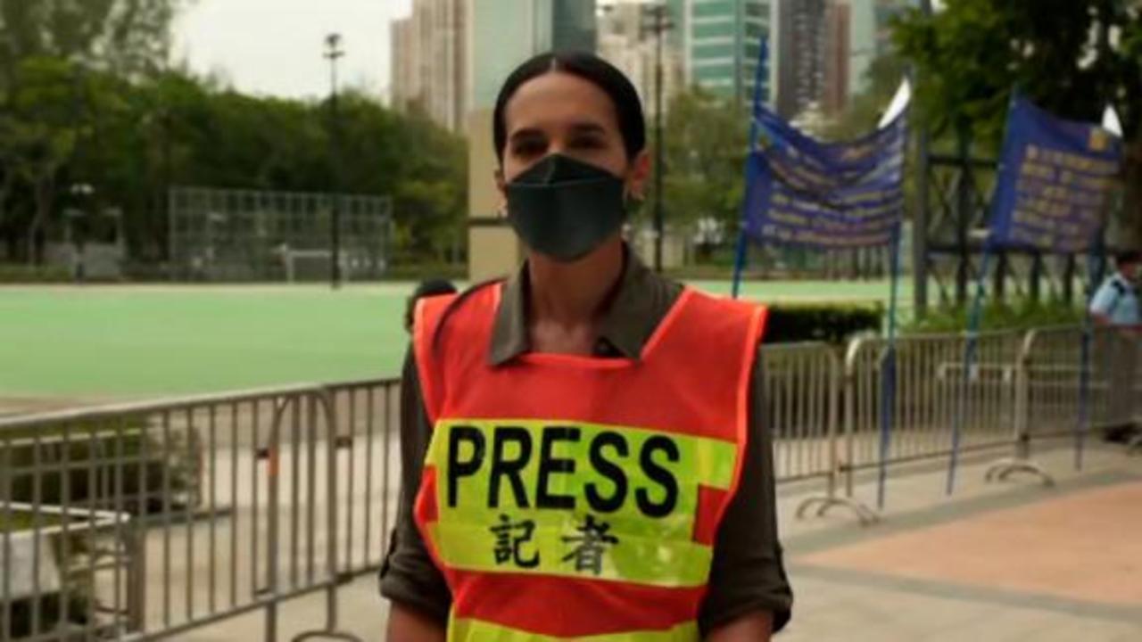 See Victoria Park as Hong Kong police close Tiananmen vigil location