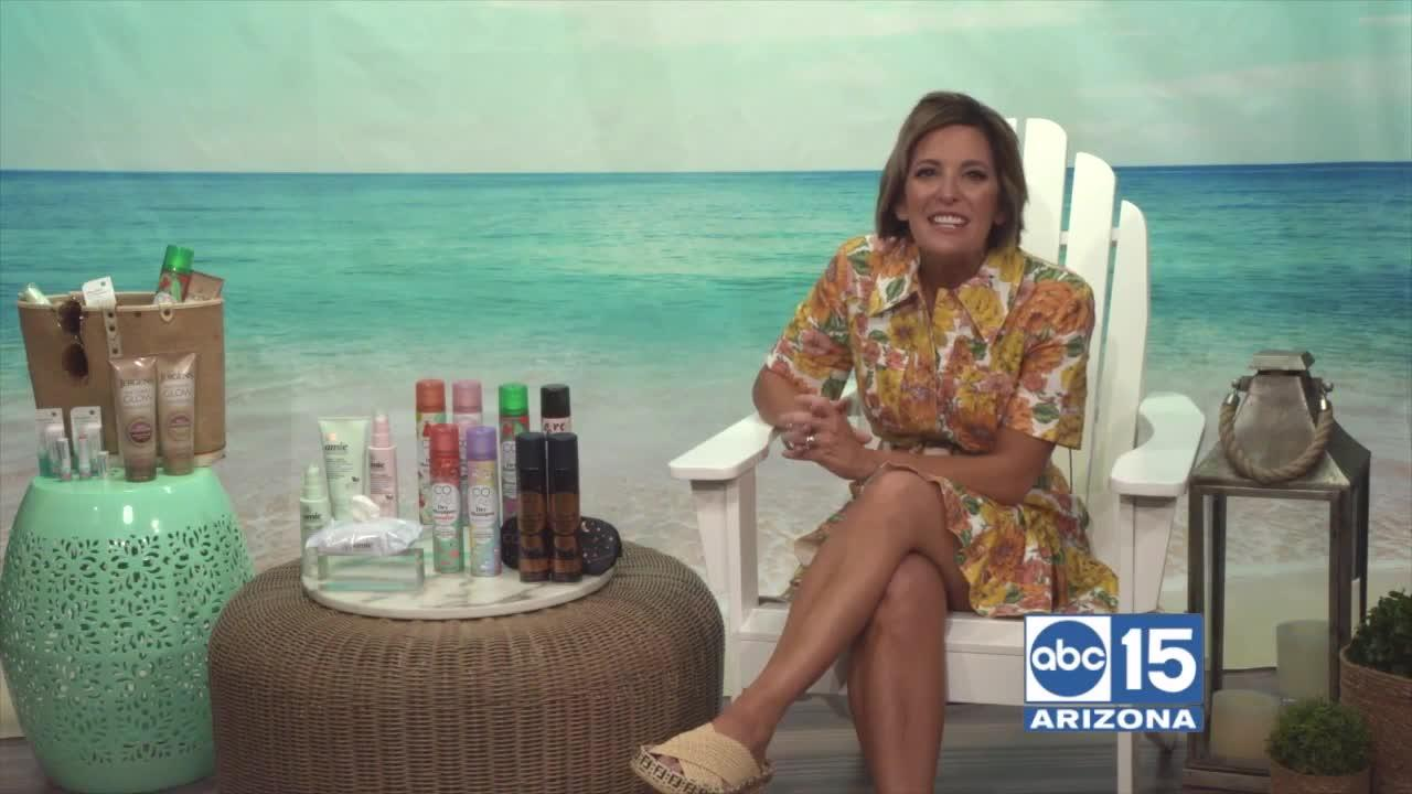 Joann Butler talks about on-the-go beauty essentials