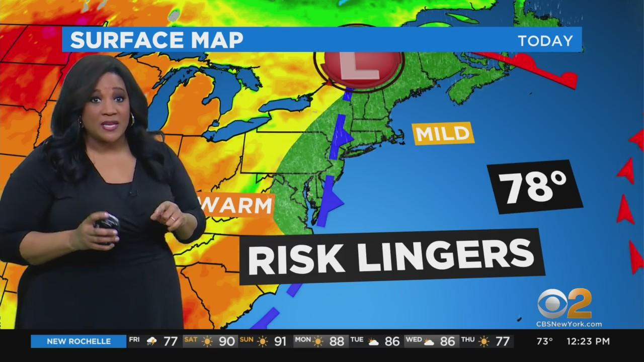 New York Weather: CBS2's 6/4 Friday Afternoon Update