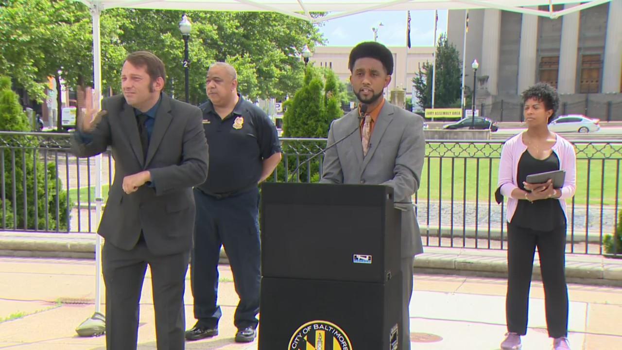 Mayor Brandon Scott Provides COVID-19 Update