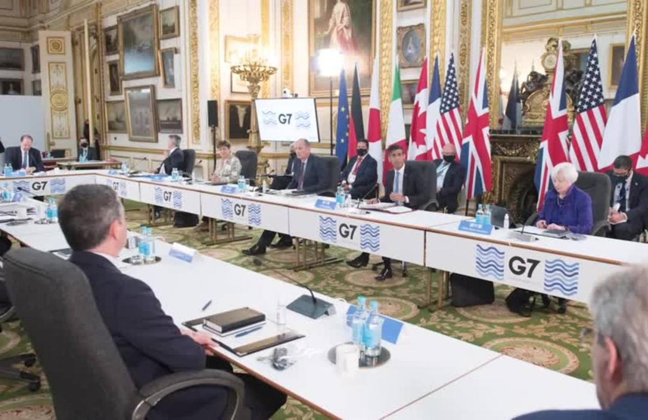 G7 nations 'just one millimeter' from historic tax deal