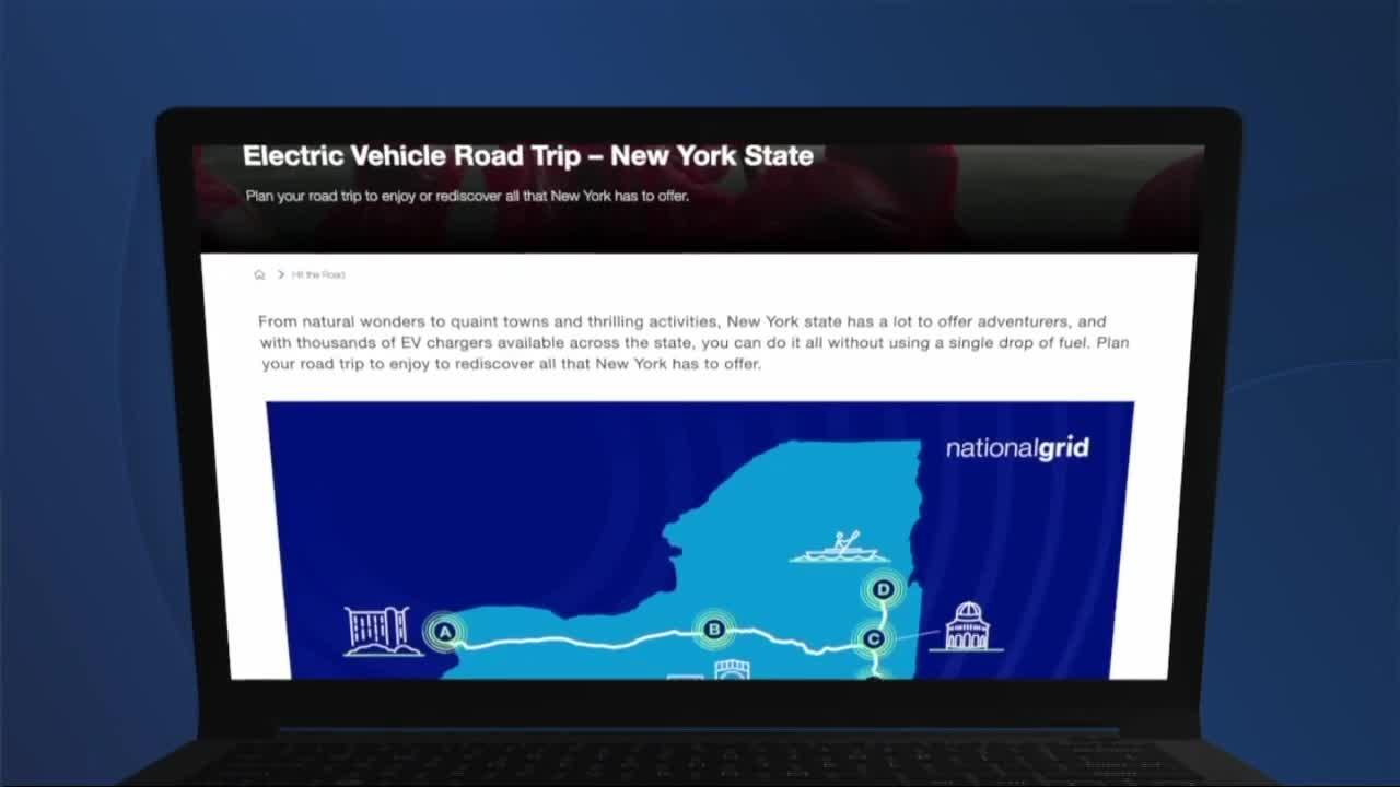 How to map out a summer road trip with an electric car