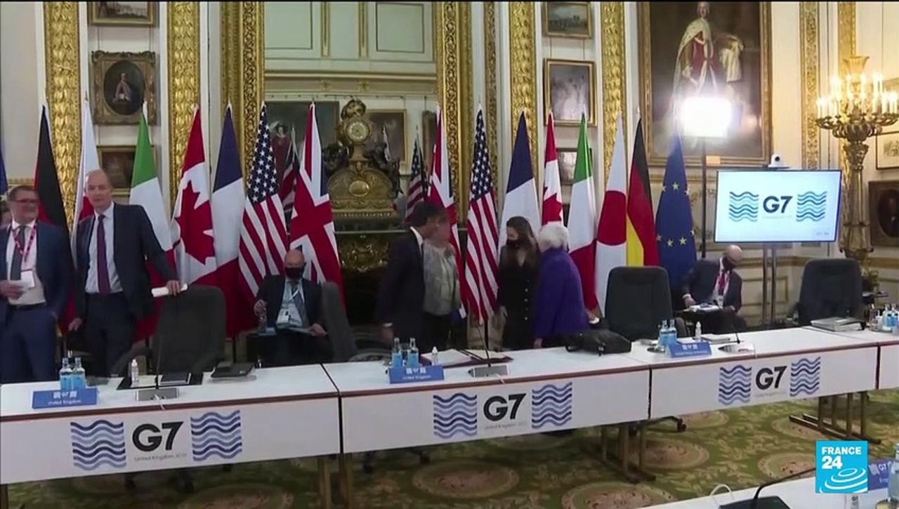 G7 agrees on global minimum corporate tax on large multinational tech companies