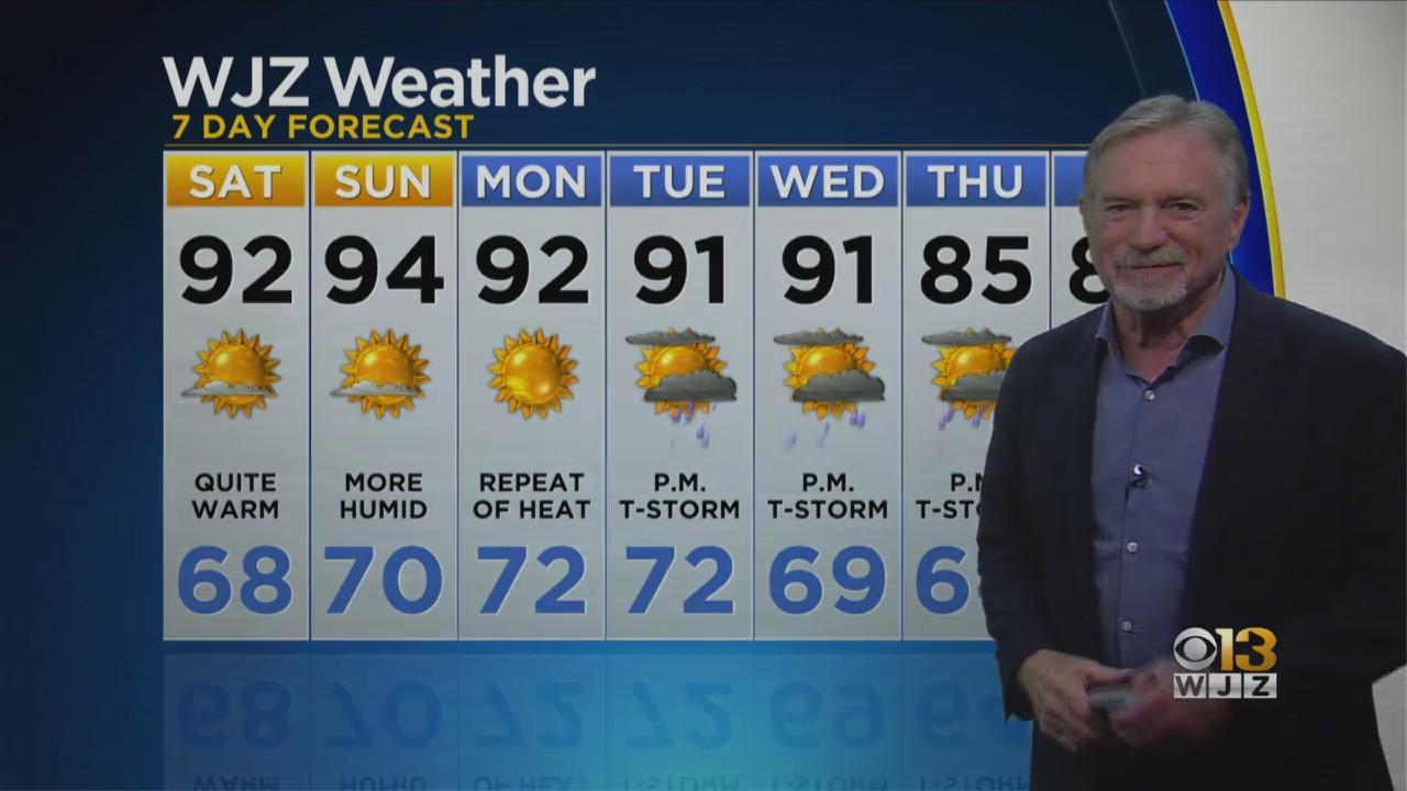 Bob Turk Has Your Evening Forecast