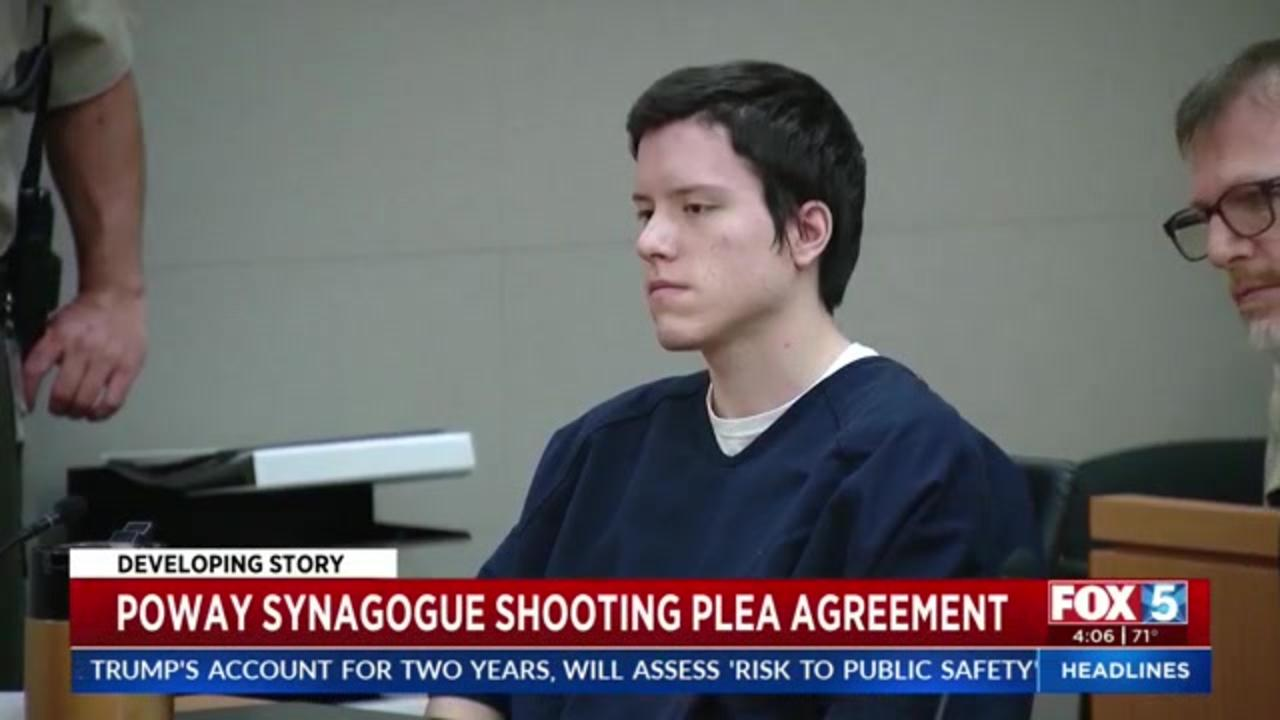 Accused Poway synagogue shooter agrees to plea deal