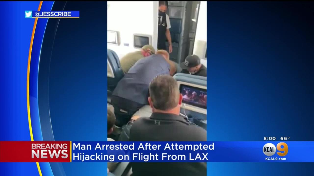 Delta Flight From LAX Diverted After Man Allegedly Attempting To Get Into Cockpit Tackled