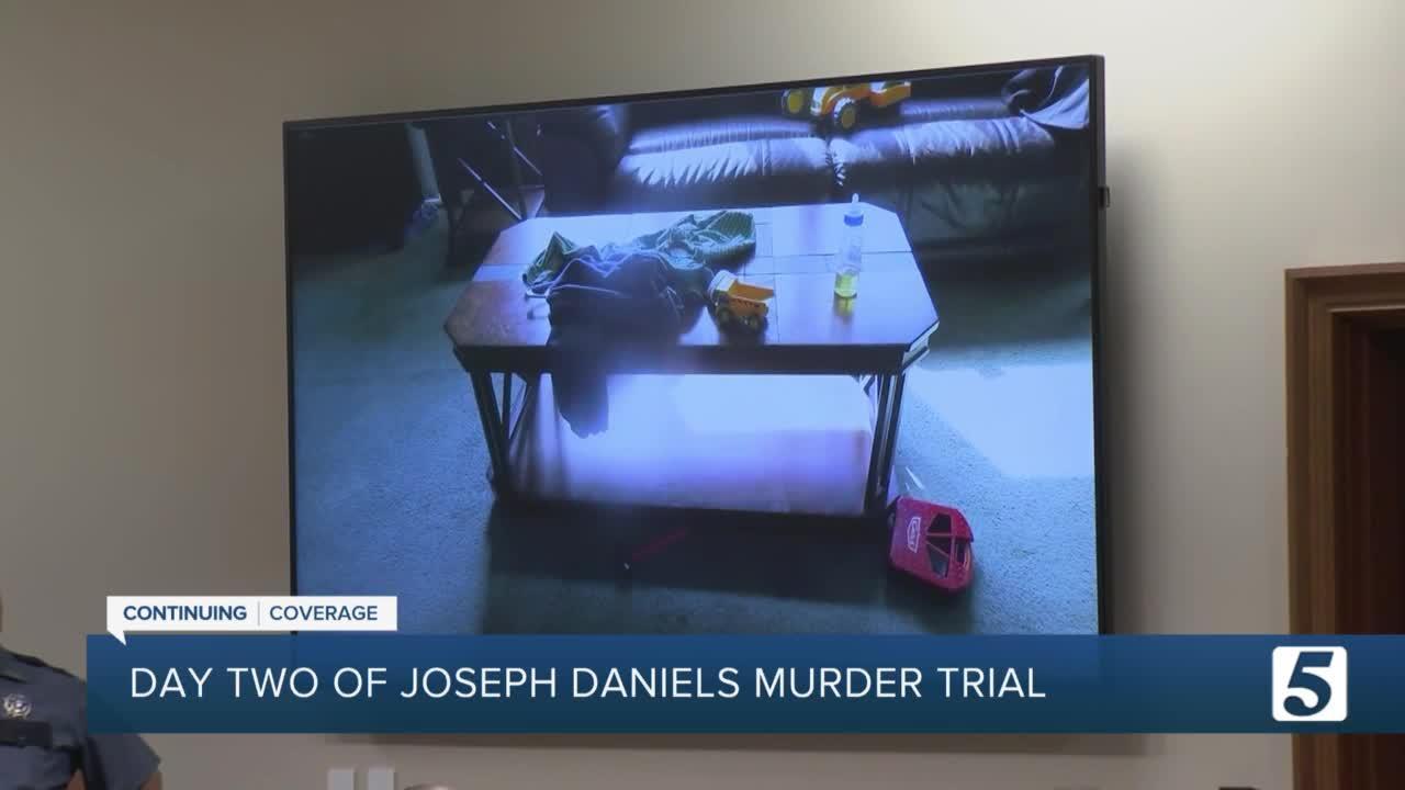 Day 2 of Joseph Daniels murder trial