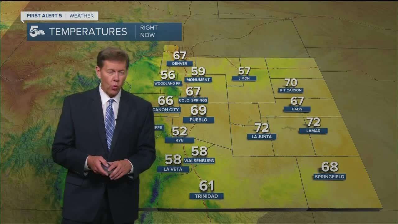 Warm, summer-like weekend ahead in southern Colorado