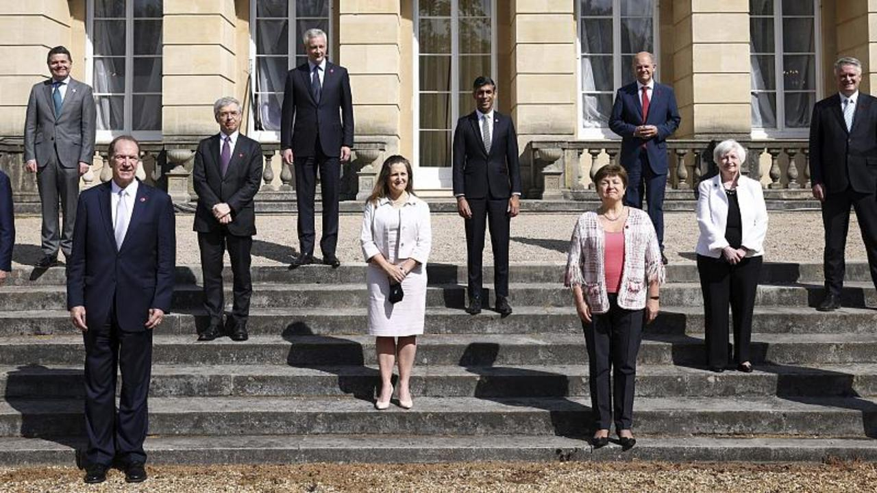 G7 finance ministers come to 'historic' agreement on global tax reform