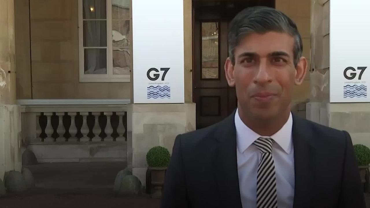 Rishi Sunak praises new G7 corporate tax agreement