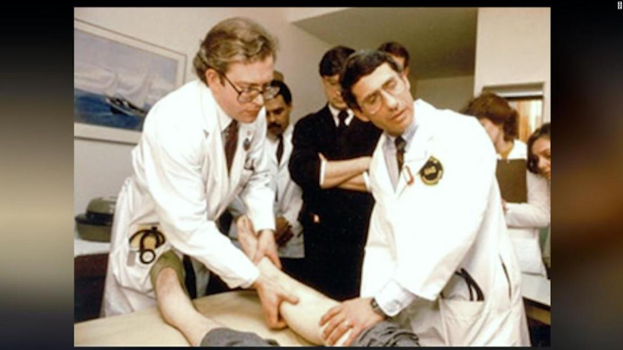Fauci looks back on his work against AIDS epidemic, 40 years later