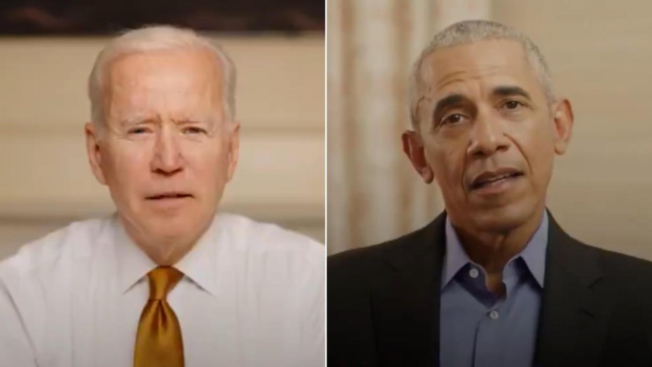 Biden celebrates healthcare milestone in call to Obama
