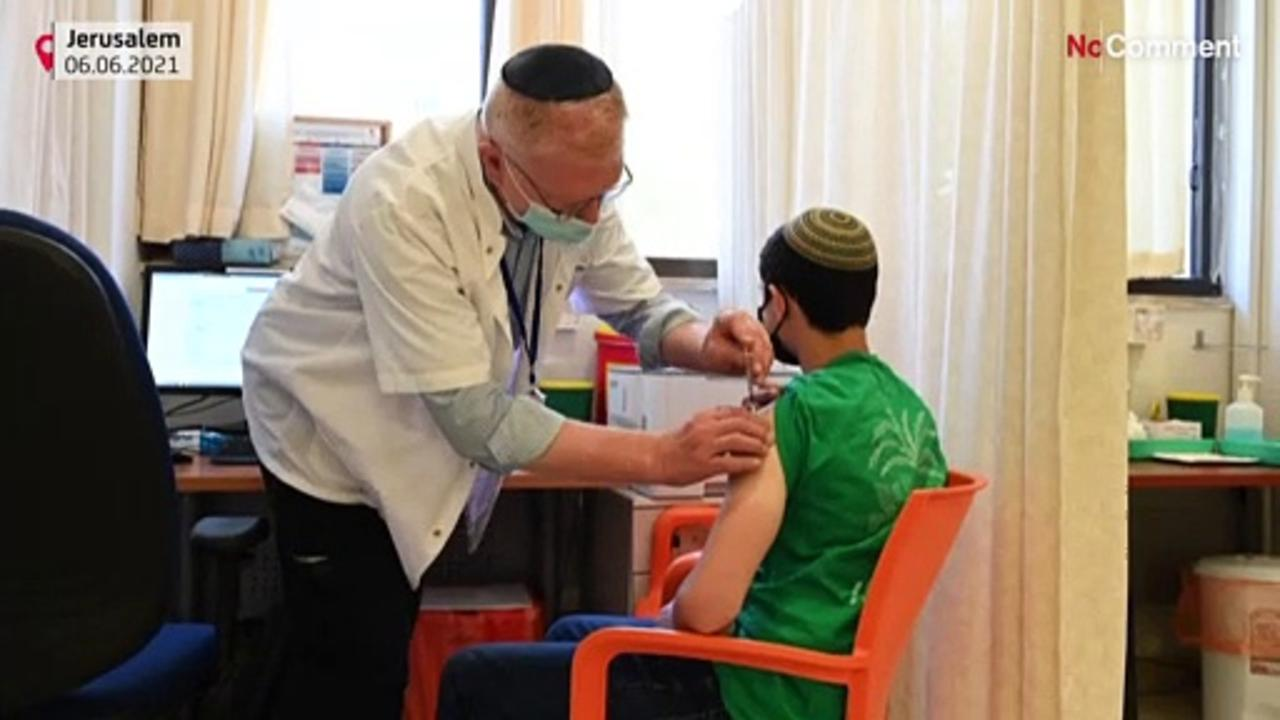 Israel launches vaccination campaign for teens aged 12 to 15 years old