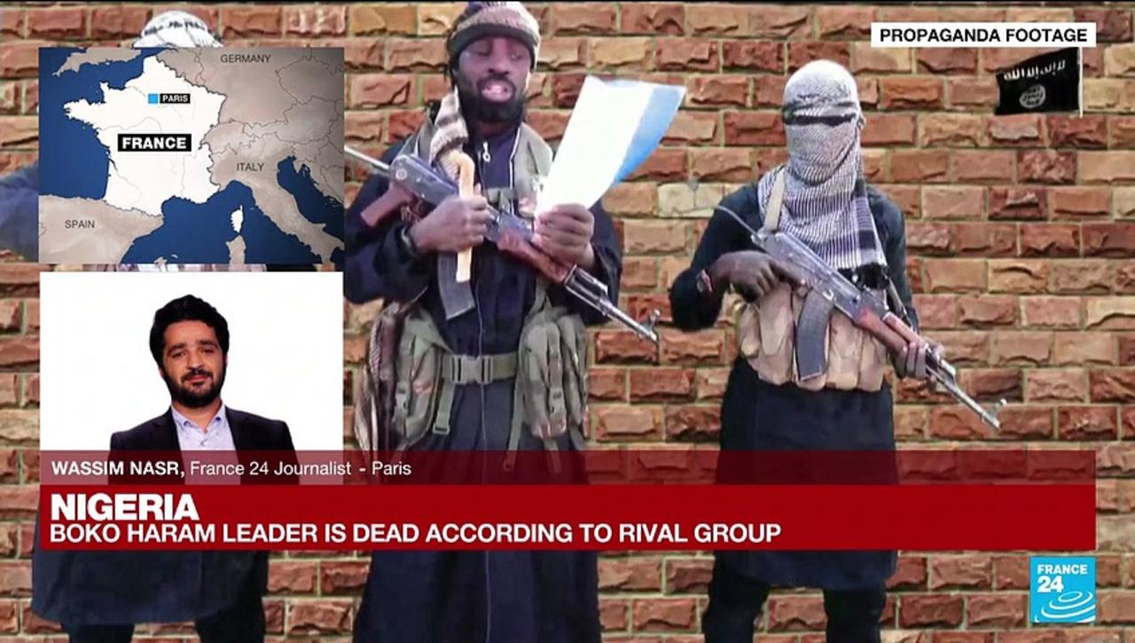 Nigeria's Boko Haram leader is dead, acccording to rival Islamist militant group