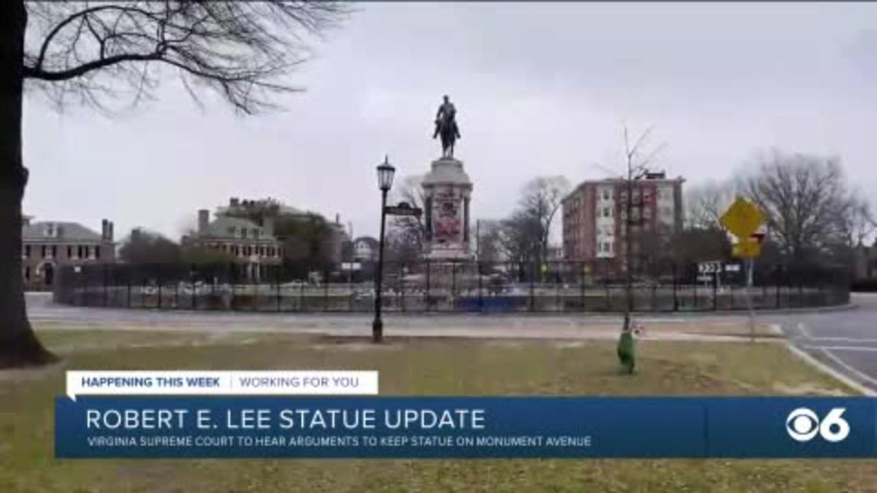 Virginia High Court to hear challenges to removal of Lee statue