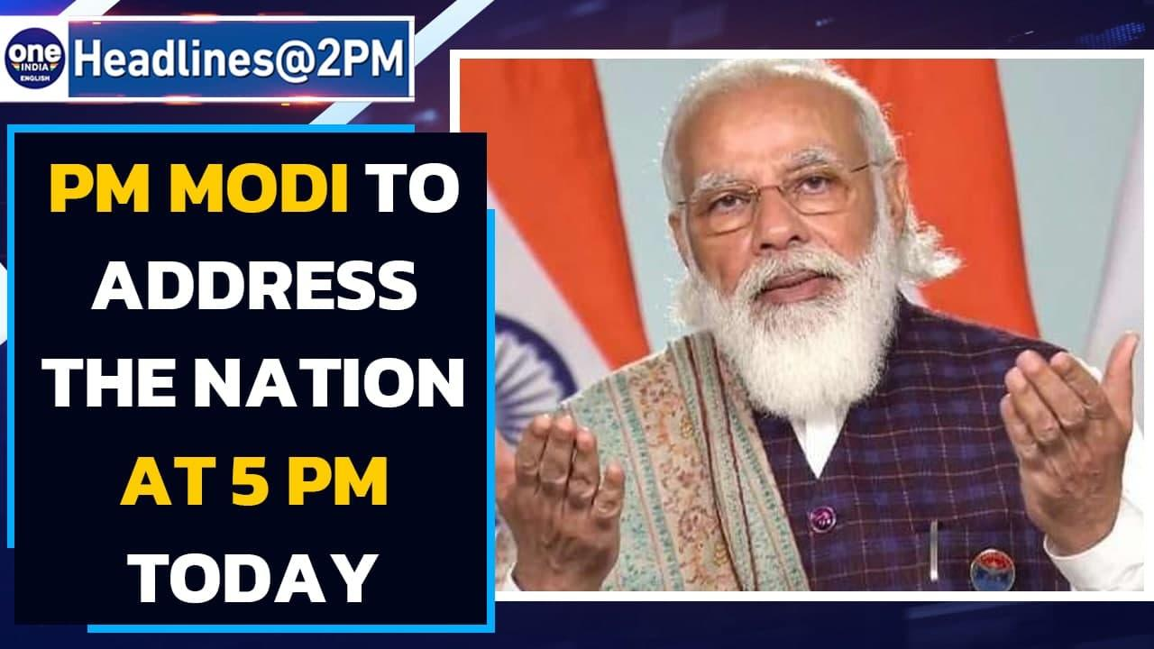 Prime Minister Narendra Modi to address the nation at 5 pm today  Covid-19  Oneindia News